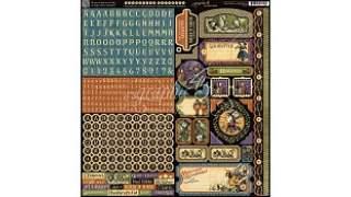 Graphic 45 Halloween In Wonderland Cardstock Stickers