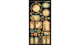 Graphic 45 Vintage Hollywood Journaling Chipboard