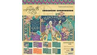Graphic 45 Midnight Masquerade 12x12 Inch Paper Pad